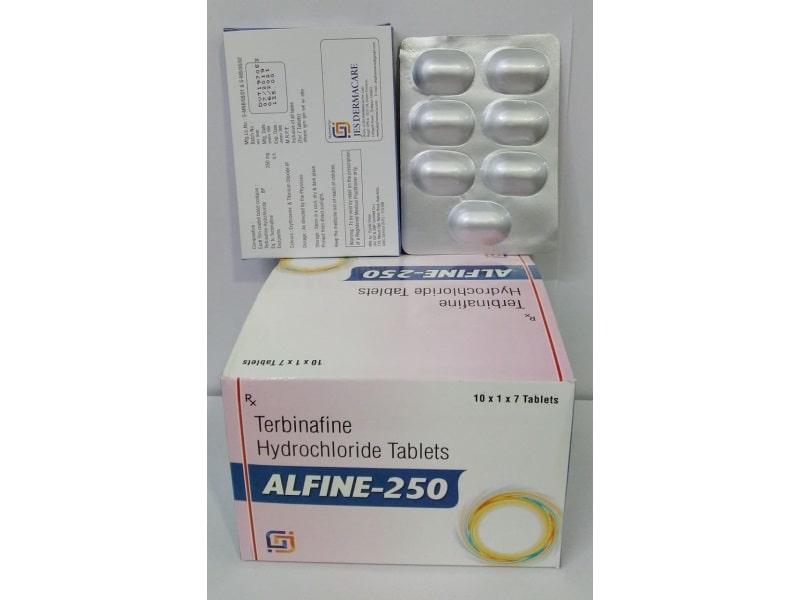 ALFINE-250-TABLETs-Terbinafine-Hydrochloride-Tablets-Jes-Pharmacia