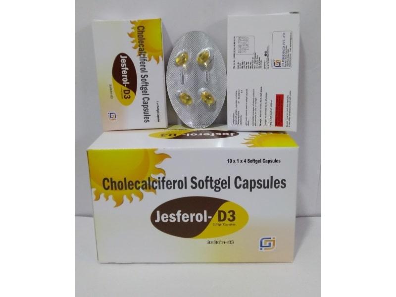 JESFEROL-D3 SOFTGEL-Capsules-Cholecalciferol-Softgel-Capsules-Jes-Parmacia