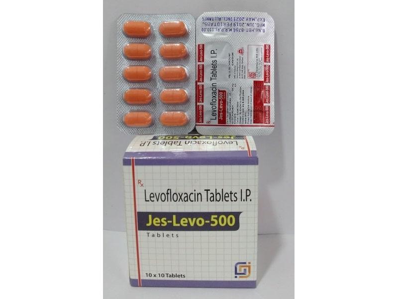 Jes-Levo-500-Levofloxacin-Tablets-IP-Jes-Pharmacia