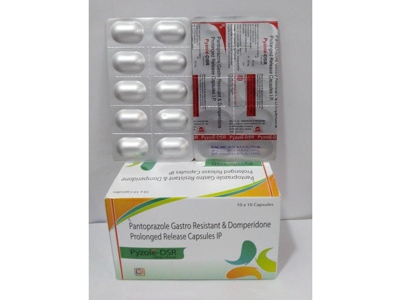 Pyzole-DSR-Capsules-Pantoprazole-Gastro-Resistant-Domperidone-Prolonged-Release-Capsules-IP-Jes-Pharmacia